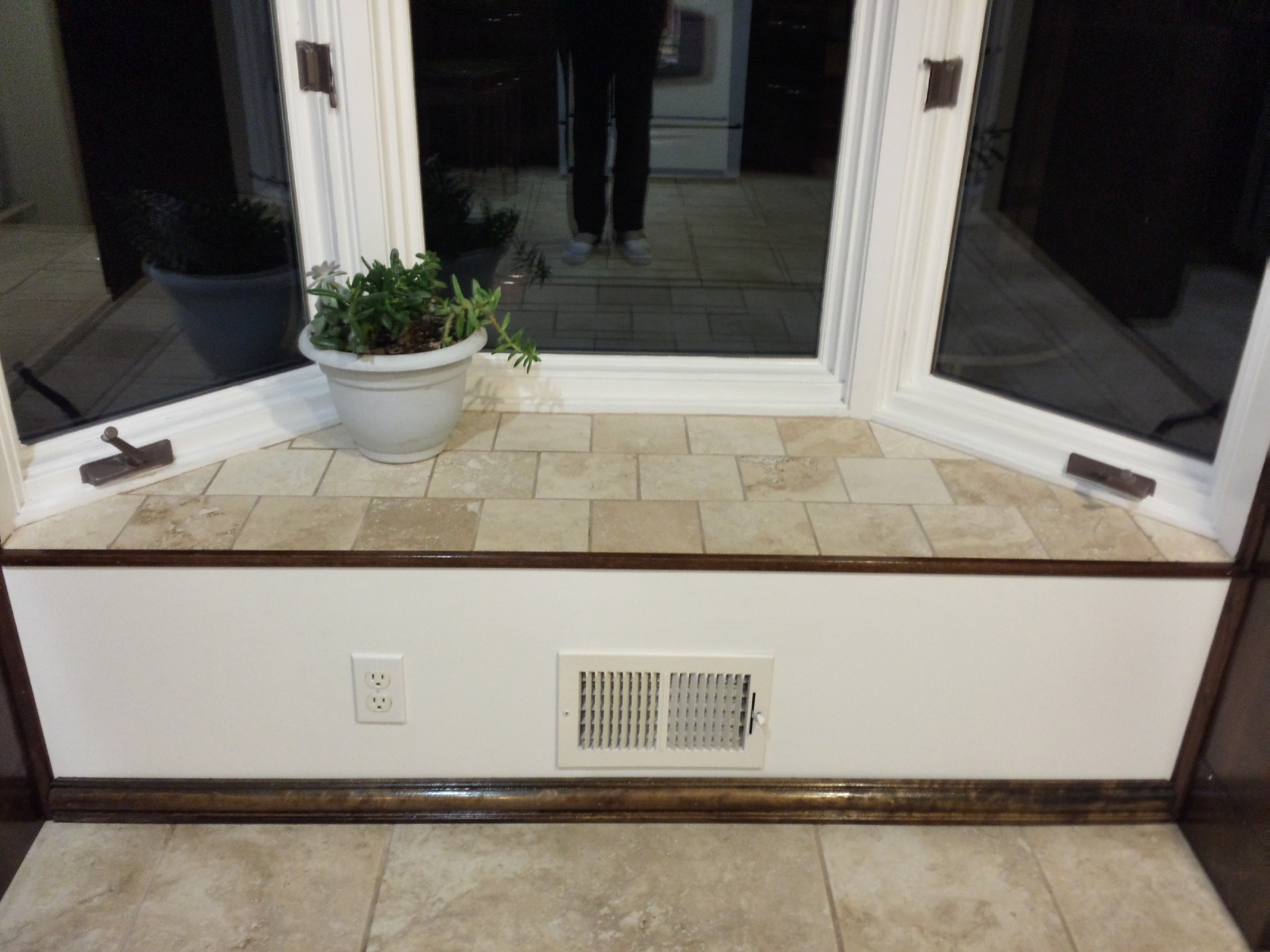Tiling Bay Window Seat Diy Step By Step Aubs Bloggin