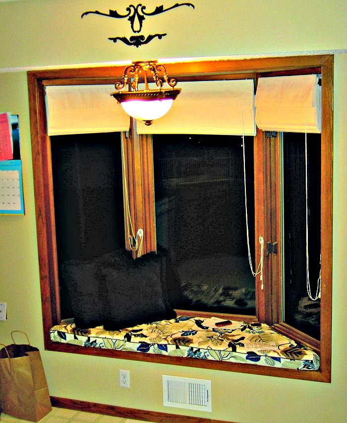 Remarkable Tiling Bay Window Seat Diy Step By Step Aubs Bloggin Machost Co Dining Chair Design Ideas Machostcouk